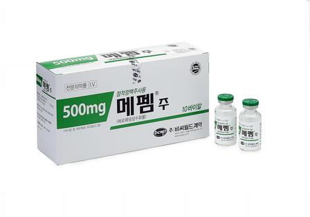 Meropenem 500mg Injection