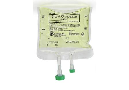 Moxifloxacin 400mg Infusion bag